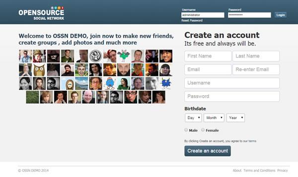 تحميل سكربت OSSN شبكة اجتماعية شبيه لفيس بوك Facebook 4.jpg